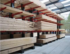 cantilever racking for timber