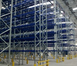 Adjustable Pallet Racking ensures a Storage Solution for any Palletised item