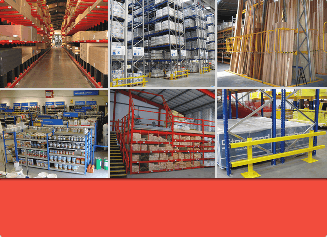 Stakapal's Cantilever Racking, Pallet Racking, A - Frame Racking, Pigeon Hole Racking and Shelving ranges for all Industry sectors