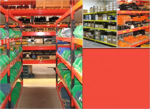 Stakrak SR500 Series Widespan / Longspan Shelving is generally used in storeroom and warehousing for small handloaded items