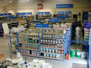 Stakapal SR500 Series Shop Racking for Trade Storage and Merchandising areas