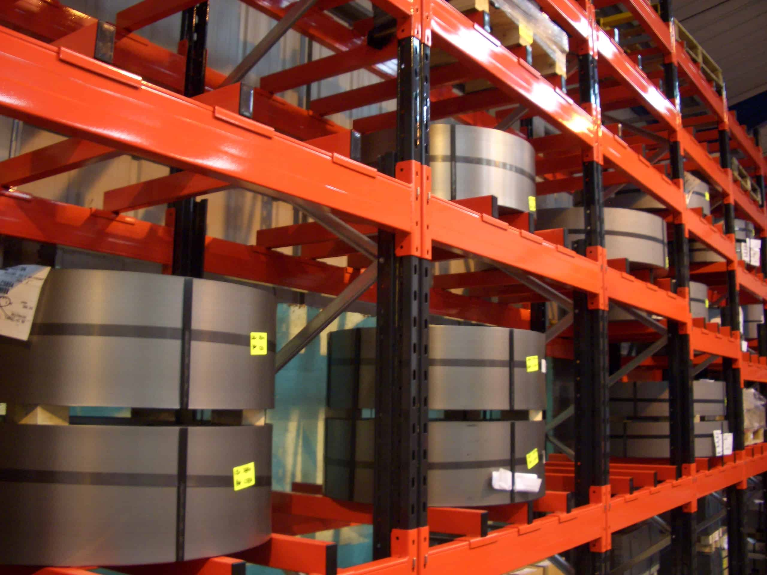 Heavy Duty Pallet Racking for Industrial Steel Coil storage