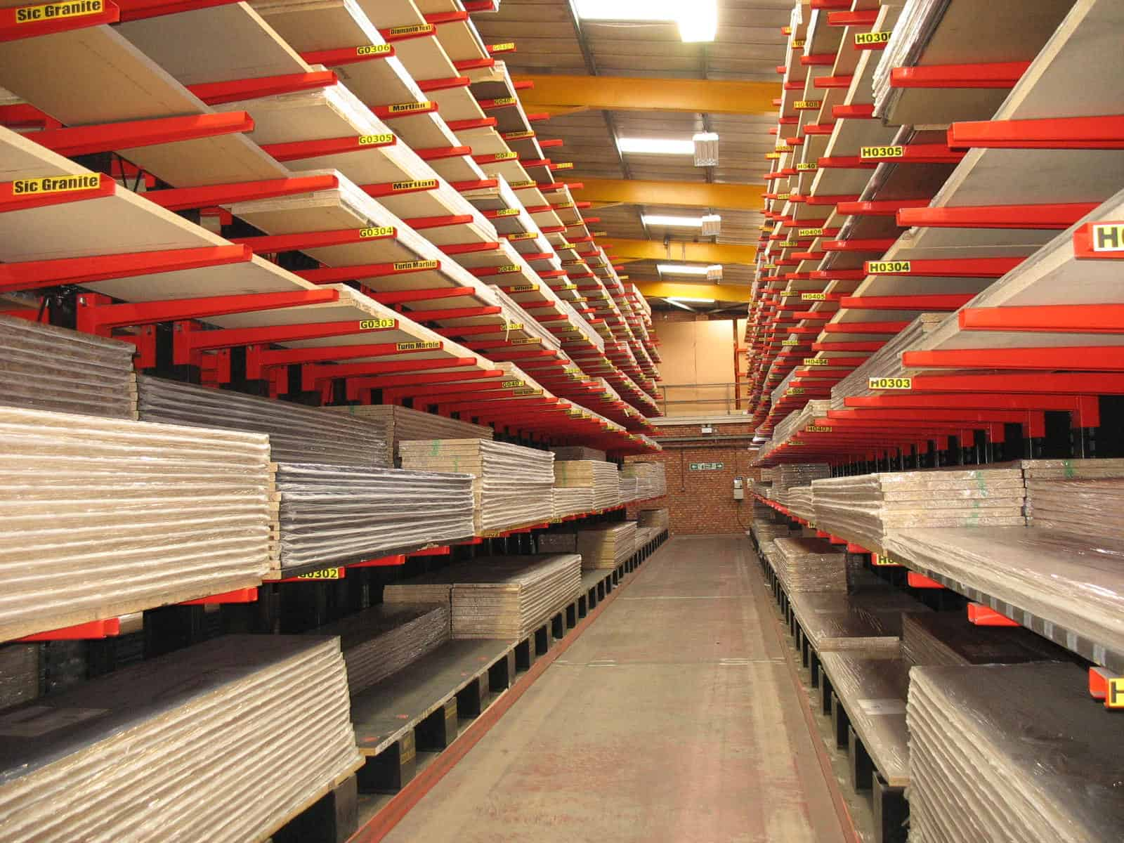 Cantilever Racking ensures good stock rotation levels for Panel Products