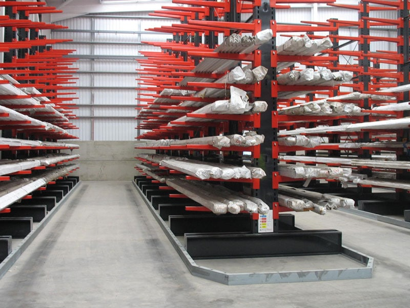 cantilever racking for stainless steel