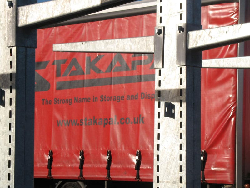 Double Sided Racks with Canopy for Timber Storage