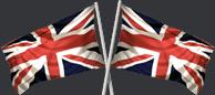 UK flag manufactured