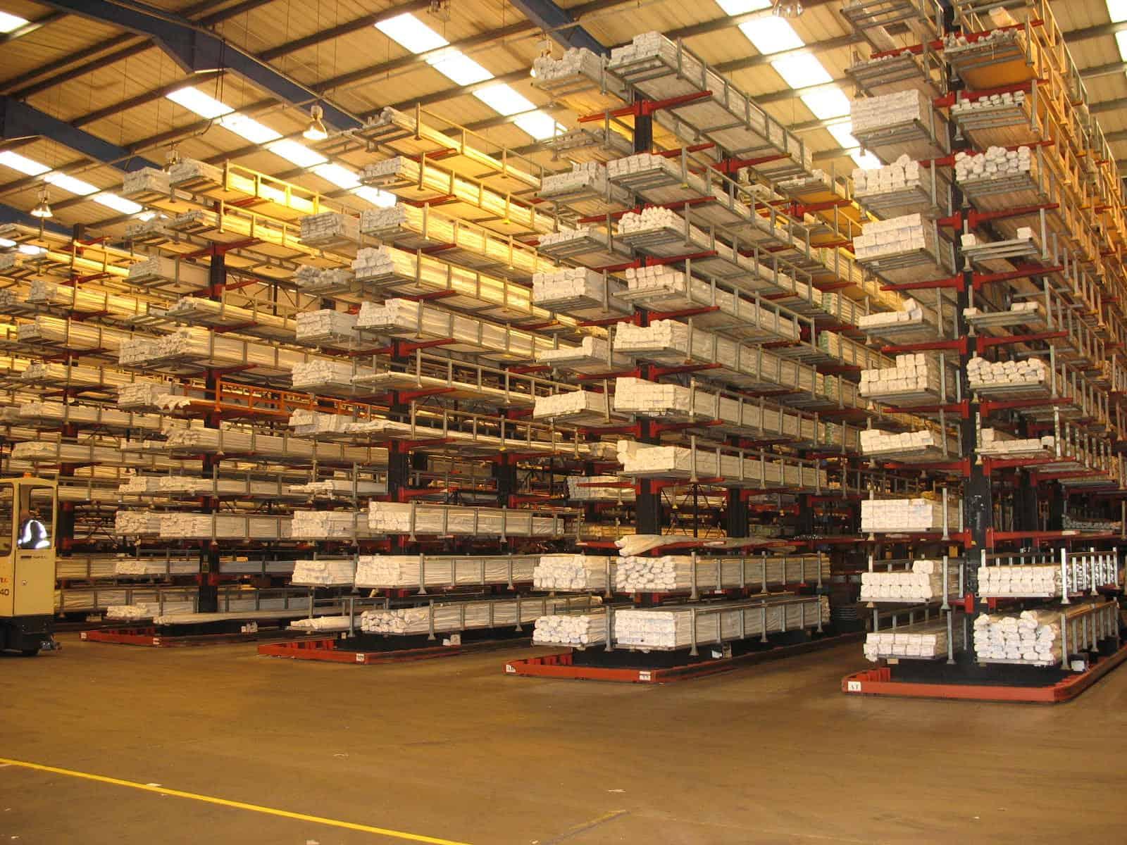 narrow aisle cantilever racks