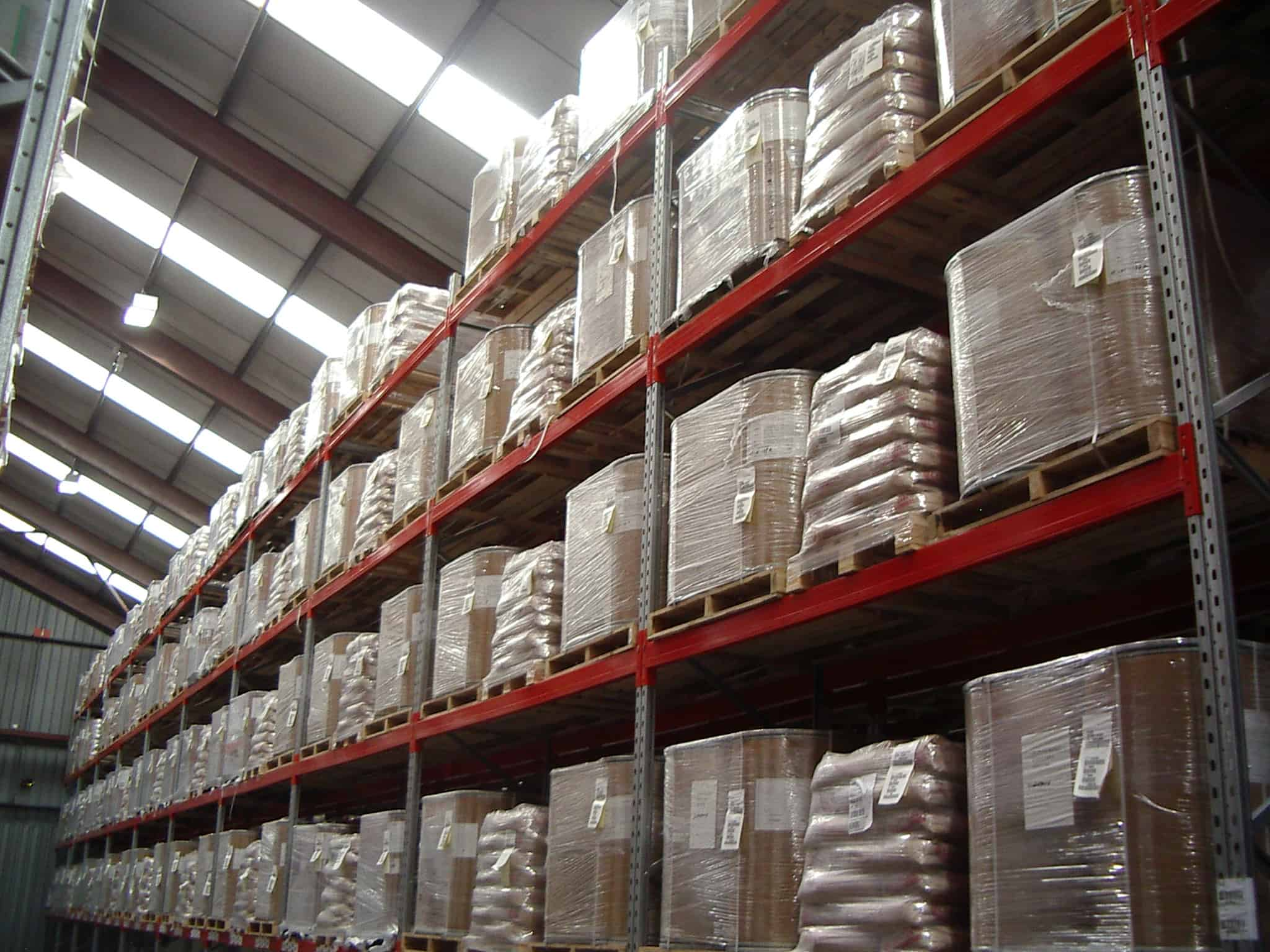 Pallet Racking for Distribution