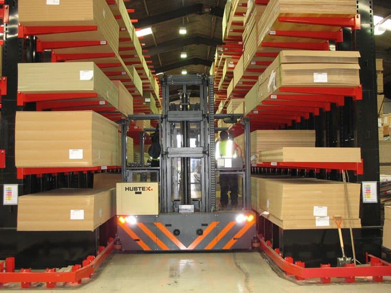 narrow aisle cantilever racking