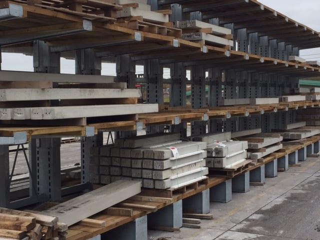 concrete lintel cantilever racking