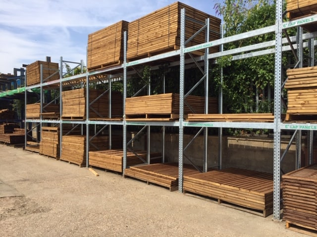 pallet racking for fencing