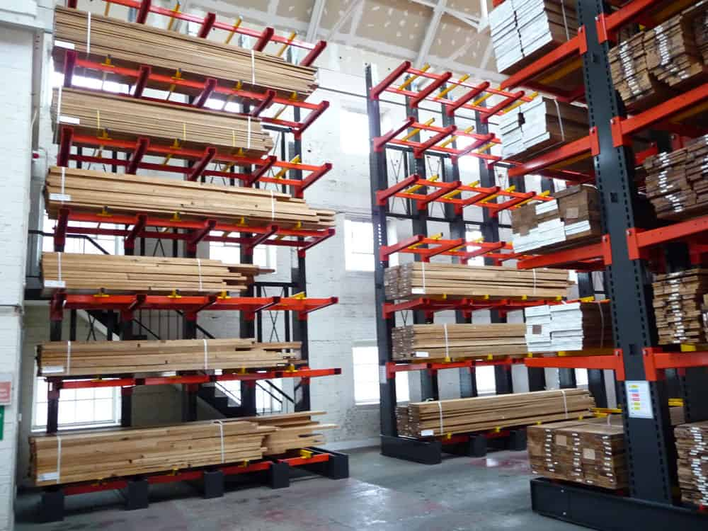 Stakapal Pallet Racking offers an ideal storage solution for Hardwood Flooring products