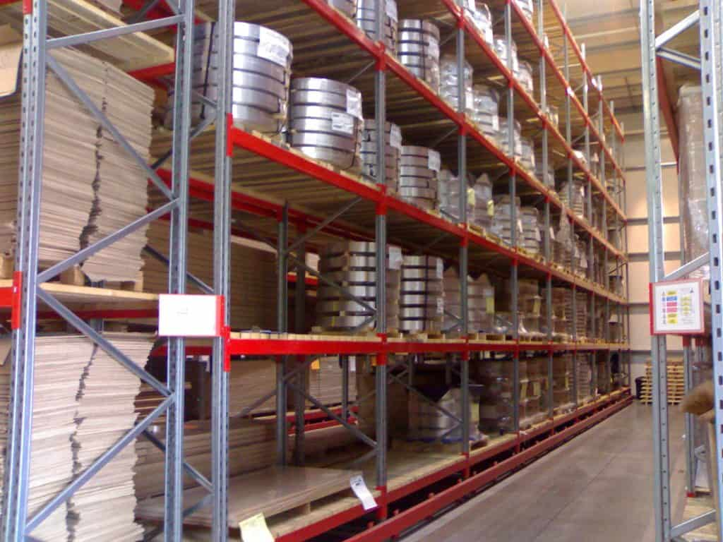 Steel Coil Guided Pallet Racking