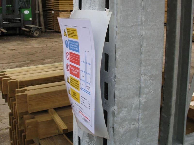 racking safety information