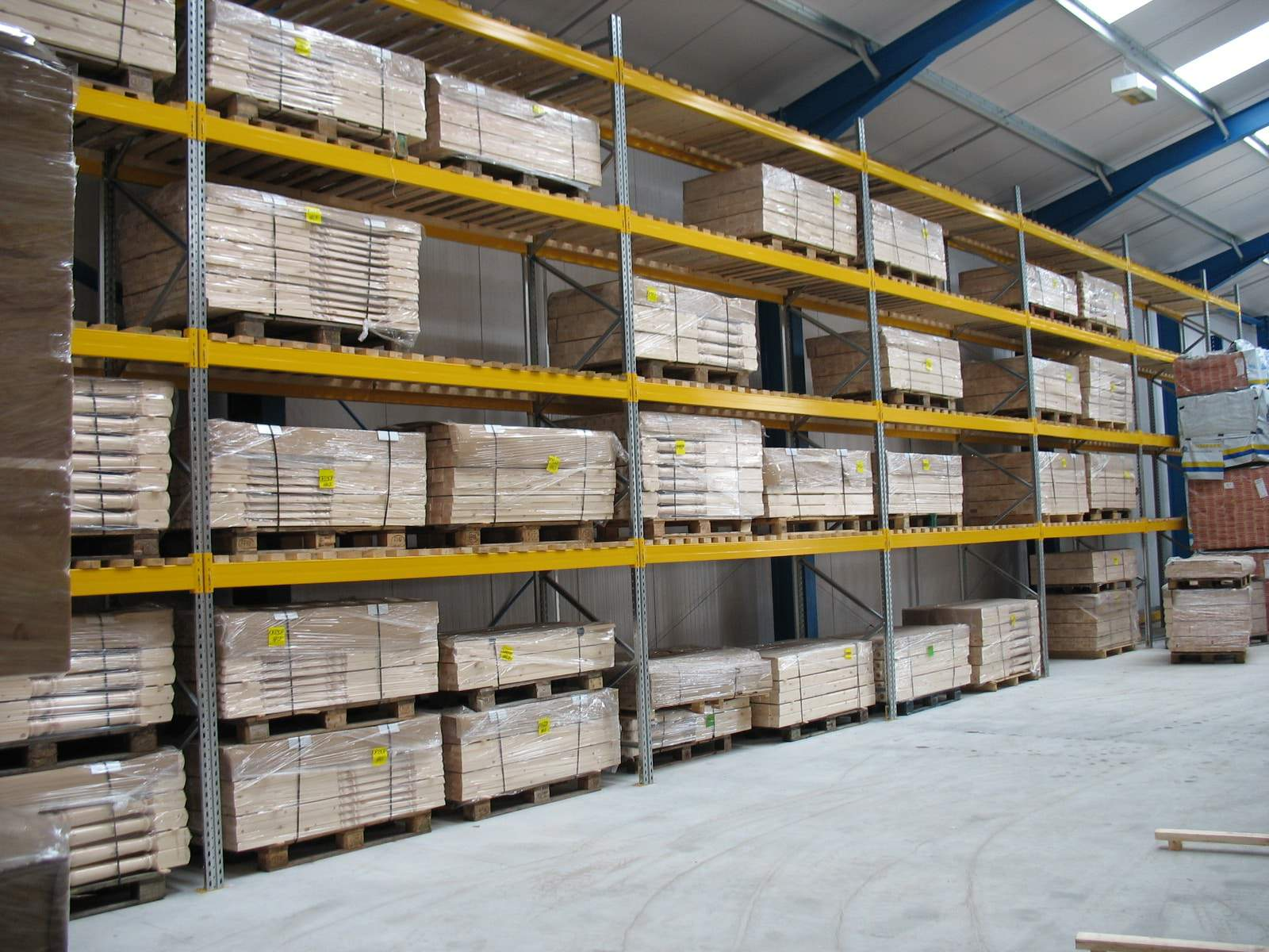pallet racking for timber products