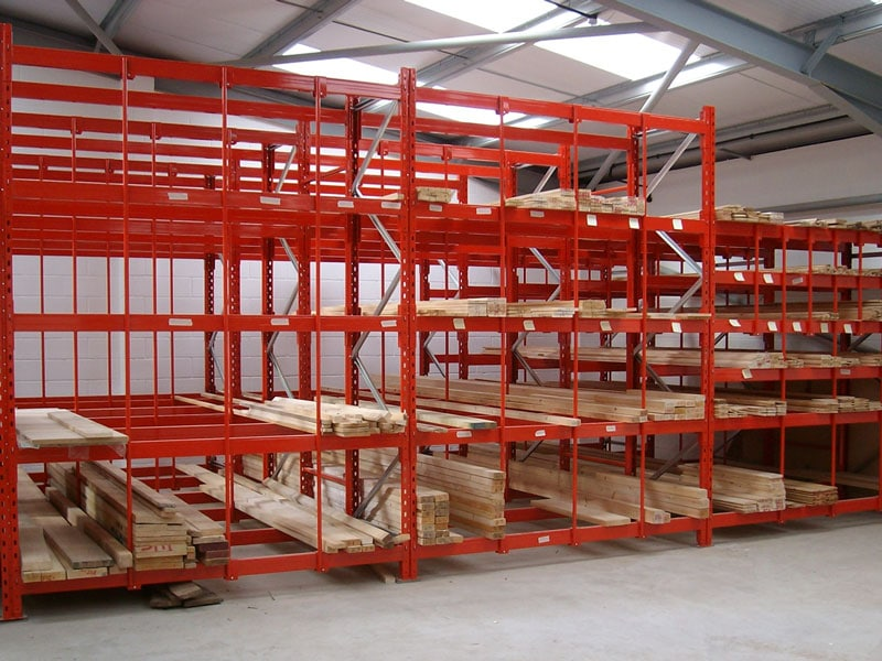 shelving for timber