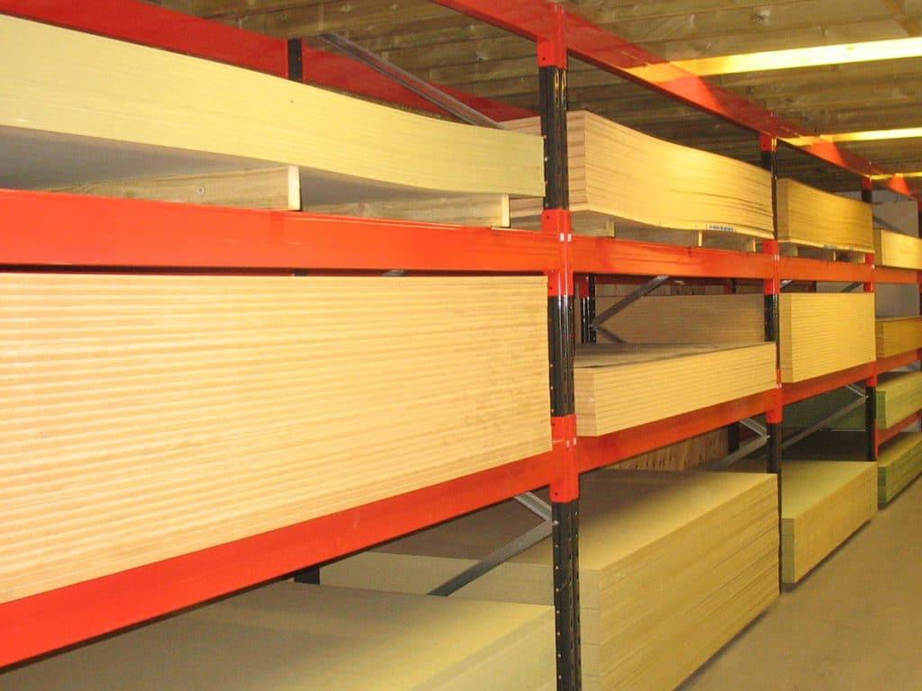 pallet racking for panels
