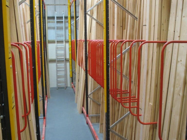 vertical timber racking
