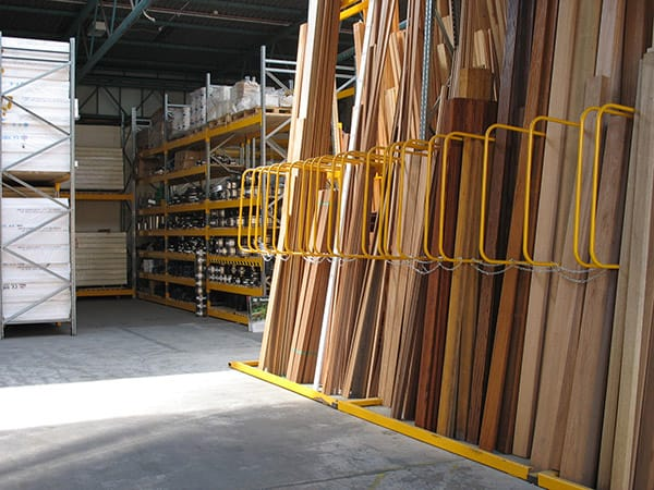 A-Frame Timber Racking