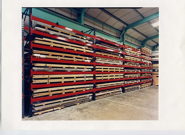 Aluminium Sheet and Plate Racks