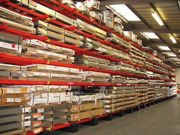 Aluminium Sheets Racking