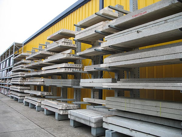 Cantilever Racking for Concrete Lintels