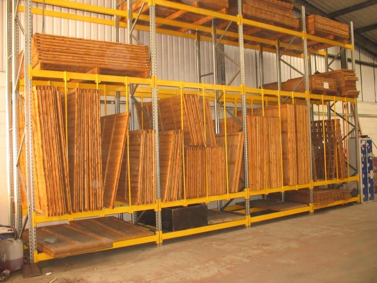 Pallet Racking for Fencing Materials
