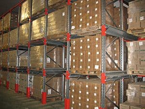 Food Production Pallet Racking