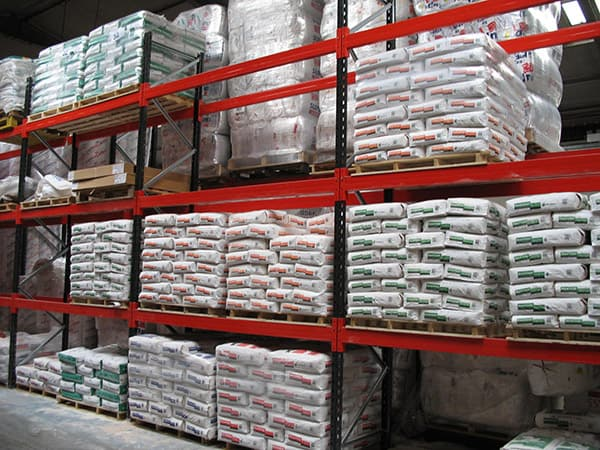 Heavyside Pallet Racking Storage for Bagged Building Materials