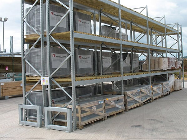 Pallet Racking Protection Systems Heavy Duty Barrier