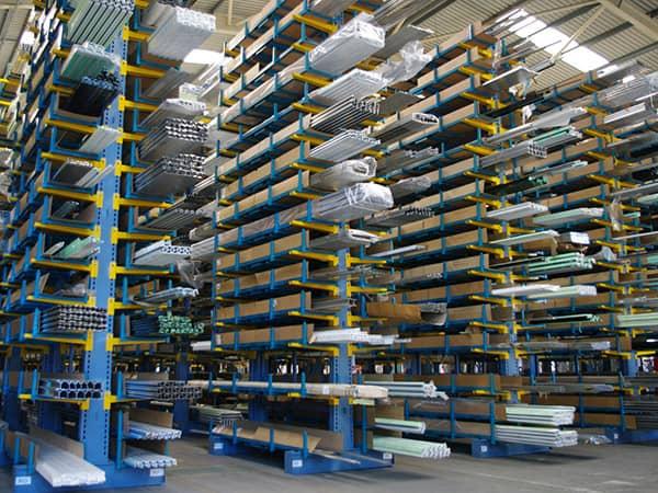 Cantilever Racking for Aluminium Profile Storage