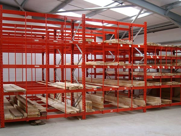Horizontal Timber Storage Racks
