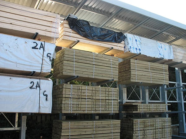 Cantilever Racks For Timber Storage