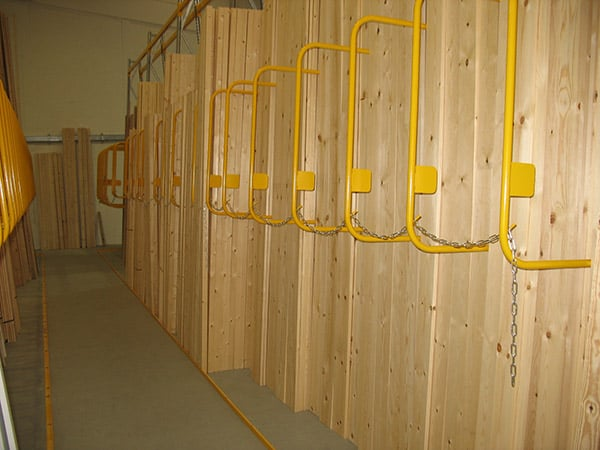 Vertical Racking for Timber
