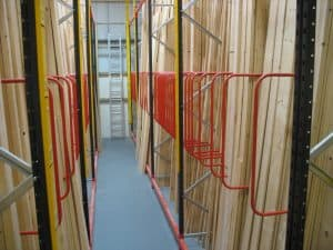 A Frame and Vertical Racking