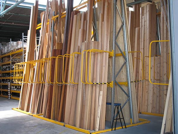Vertical Storage Racking for Timber
