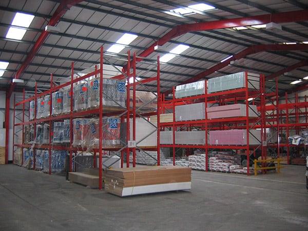 Heavyside Building Product Storage Racks