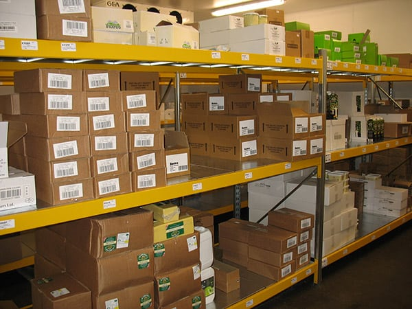 Widespan Shelving For Handloaded Boxed Items