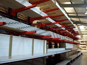 Cantilever Racking for Worktops