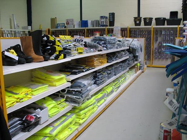 Builders Shop Racking Image