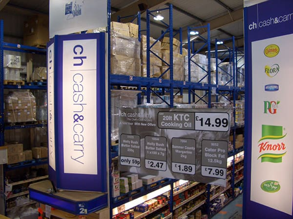 Cash Carry Racking Image