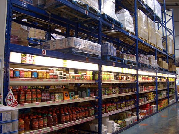 Cash Carry Warehouse Racking Image