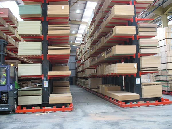 Guided Aisle Racking Image