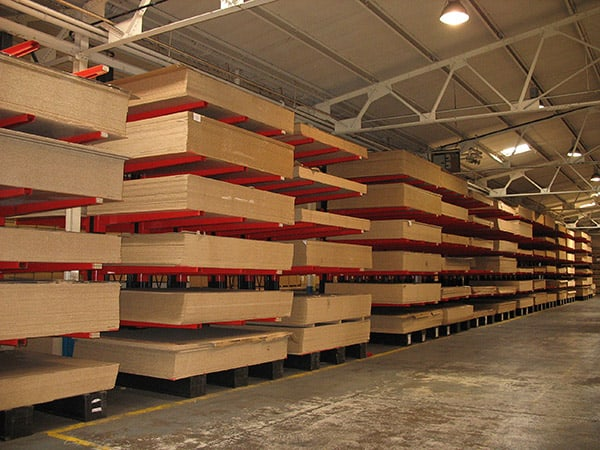 Panel Cantilever Racking Image