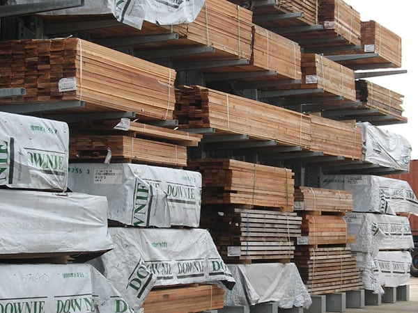 Timber Carcass Racking Image