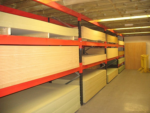 Wood Panels Racking Image