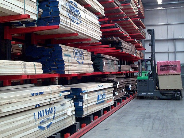 Guided Cantilever Racks for Timber