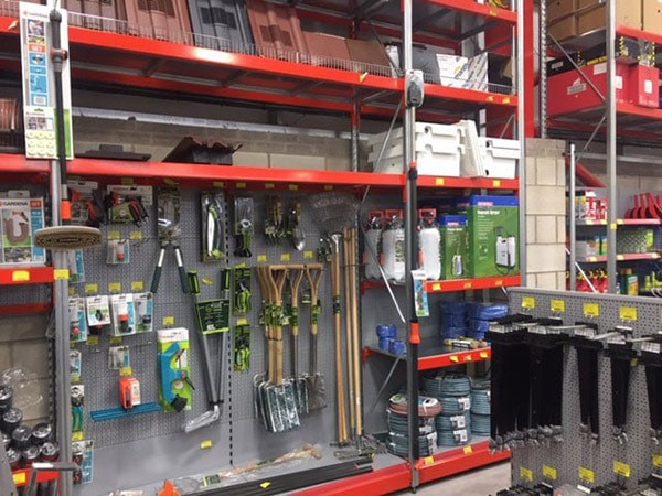 Integrated Shop Racking