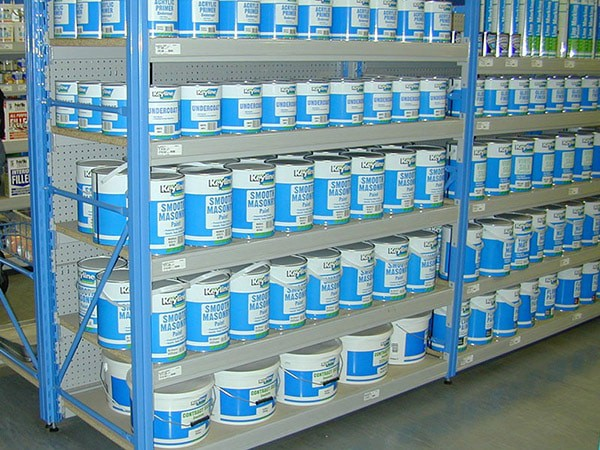 Paint Shelving