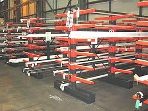 Heavy Duty Cantilever Racks for Aluminium Profile Storage